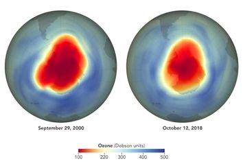 Buenas noticias sobre el agujero de ozono