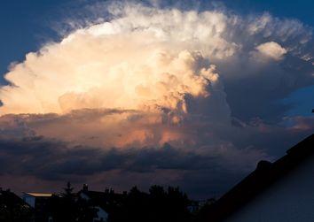 Cumulonembi, le spettacolari nuvole dei temporali