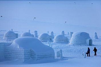 O degelo do Ártico é uma ameaça para os esquimós