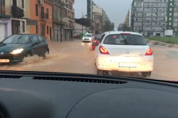 El primer 'golpe' de la gota fría: inundaciones en Valencia