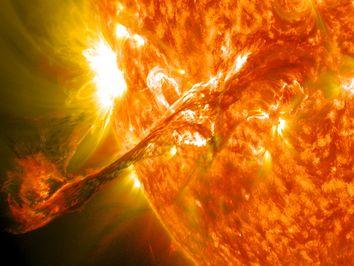 #WorldMetDay: el Sol, la Tierra y el tiempo