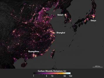 Evaluando la huella de carbono de las ciudades