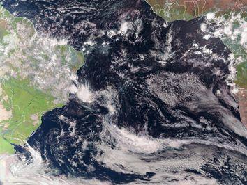 Furacão na costa brasileira?