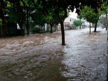 Inundaciones en el norte y sequía en el sur
