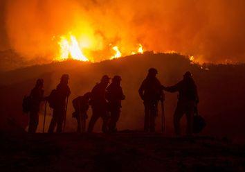 Keine Entwarnung: Waldbrände in Kalifornien breiten sich aus!