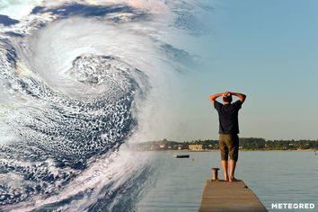 Monstruo, 'bomba' meteorológica y calor de récord