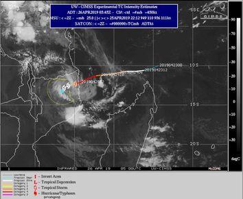 ¿Por qué el ciclón tropical Kenneth atrae a los científicos?