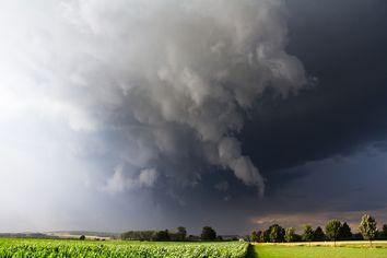Posible episodio de tormentas severas a la vista
