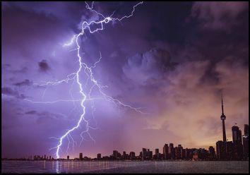 ¿Qué es una tormenta severa?