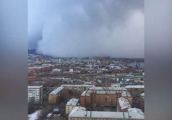 Schnee-Tsunami in Russland: Bald kommt die sibirische Kälte zu uns!