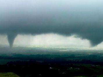 Temporada de tornados muito ativa nos EUA