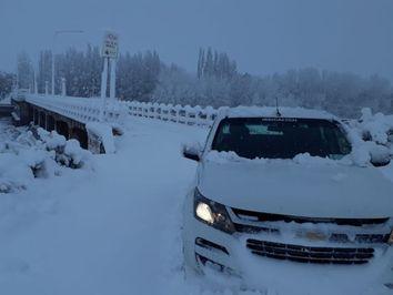 Videos de la primera gran nevada del año en Mendoza