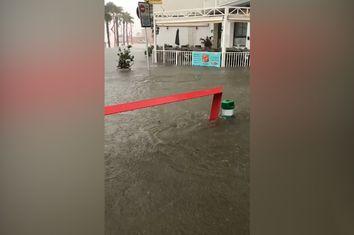 Vídeos: el récord de lluvia en una hora de Vinaròs