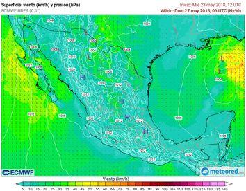 Zona de inestabilidad dejará intensas lluvias en la península de Yucatán