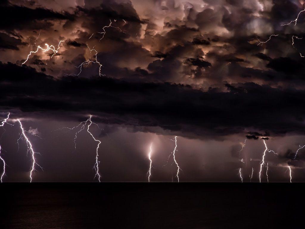 Lightning expected.