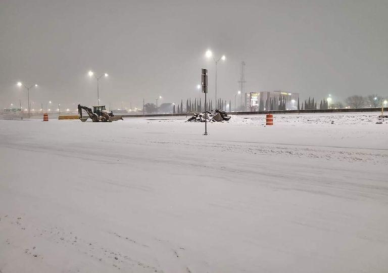 Severa jornada de tiempo invernal invade Estados Unidos. Fotografía: @StephenVick10