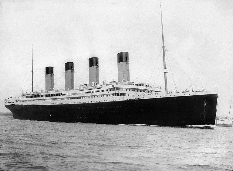 Titanic hundimiento aniversario
