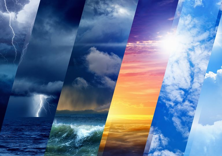 Fenómenos de la naturaleza; meteorología