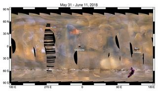 Tormenta de polvo marciana