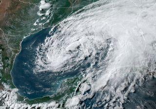 Tormenta Tropical Cristóbal ahora en el Golfo de México
