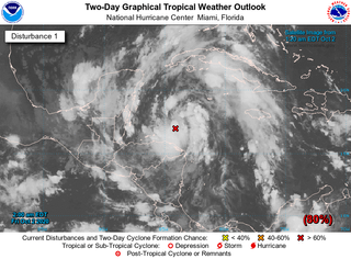 Tormenta tropical Gamma en puertas: lluvias en México y América Cent.