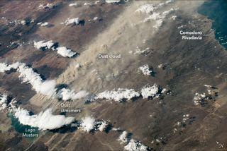 Tormentas de polvo patagónico