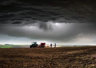 Tormentas intensas y granizo para despedir la primavera climatológica