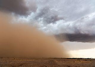 La DANA va a inyectar polvo sahariano, lluvias de barro a la vista