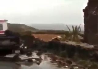 Tornado wütet bei Sizilien: Heftige Bilder!