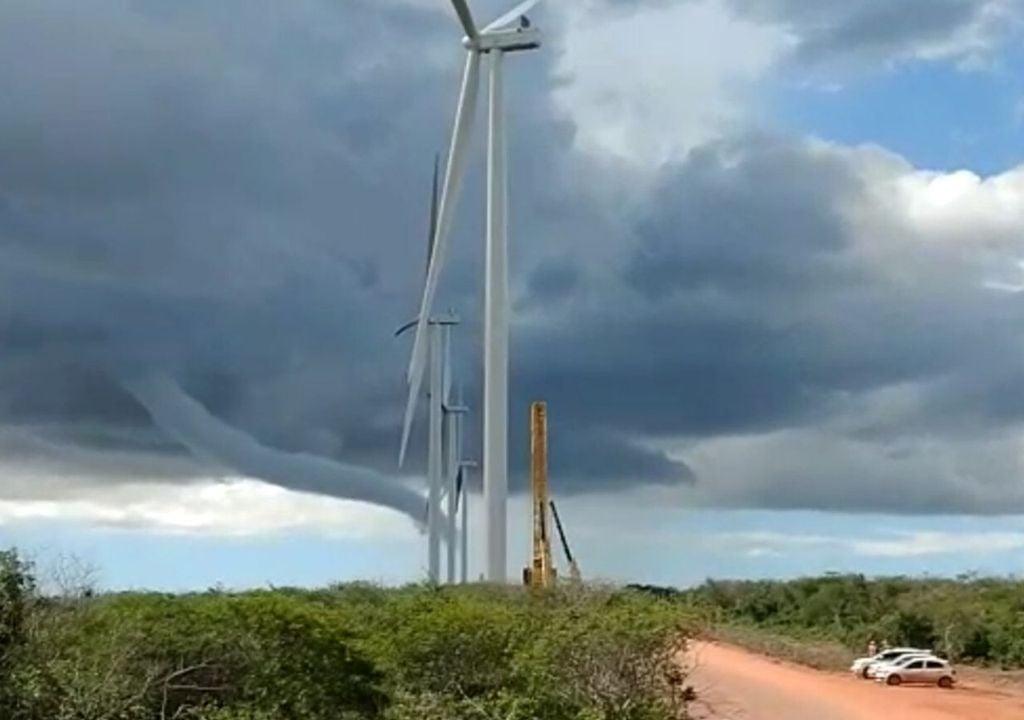 Tornados podem ocorrer no nordeste do Brasil
