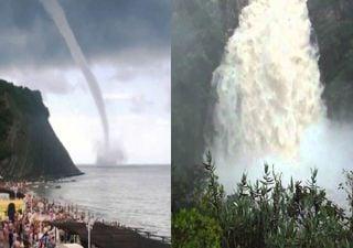 Tromba d'água e Cabeça d'água: fenômenos diferentes e perigosos