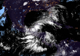 Tropical Storm Cristobal surging towards US Gulf Coast