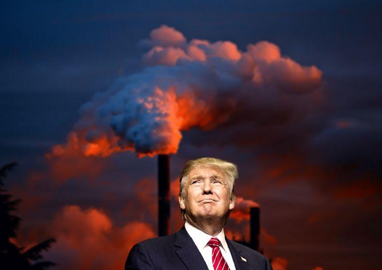 Trump contaminación