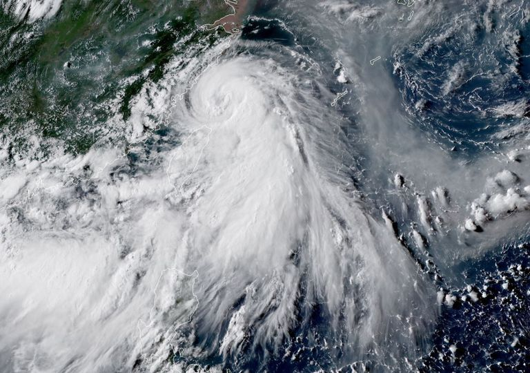 Typhoon Hagupit.