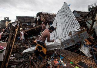 Tufão Kammuri causa destruição e mortes nas Filipinas