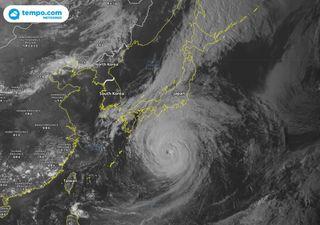 Tufão Mindulle se aproxima do Japão!