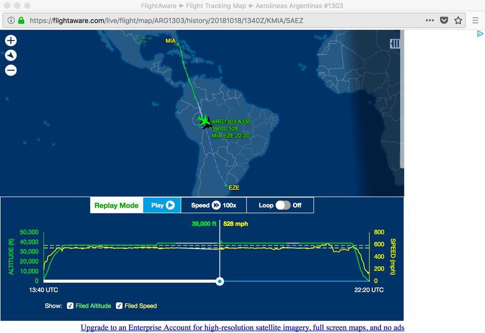 Turbulencia Severa Sobre Sudamérica