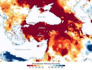 Turquía sufre una intensa sequía