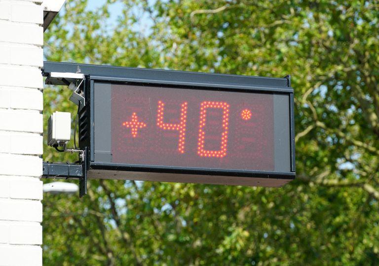 40 Grad Hitze