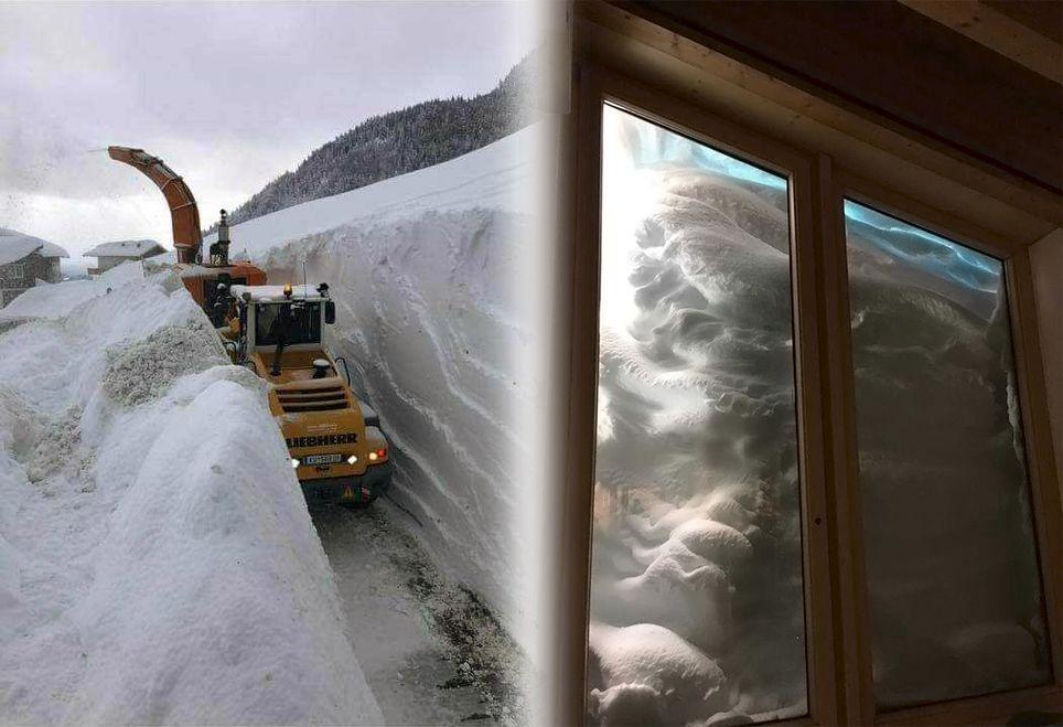 nieve Austria