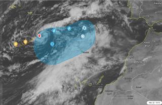 Última hora de la tormenta tropical Paulette