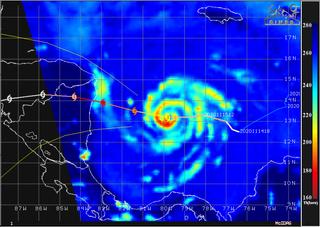 Última hora del intenso huracán Iota: camino de Centroamérica