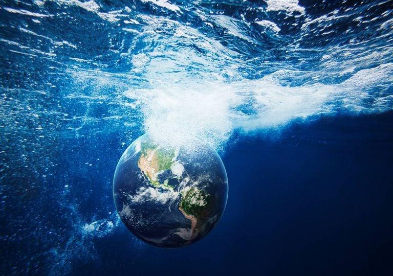 Planeta Terra vida mar oceano vírus