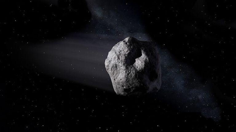 Ciencia.-Una roca espacial recién descubierta pasa la Tierra a 22.000 kilómetros