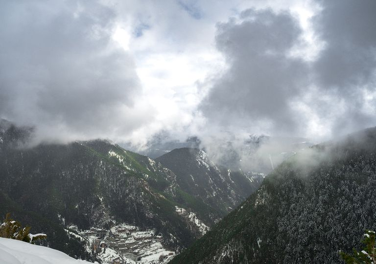 Nieve Pirineo