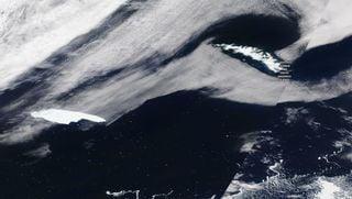 Un iceberg gigante en curso de colisión con la isla Georgia del Sur