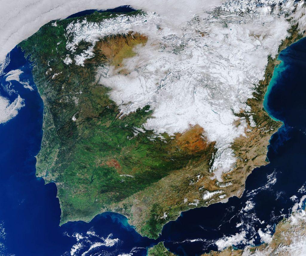 La nevada de Filomena