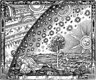 Un paseo por la atmósfera de Flammarion