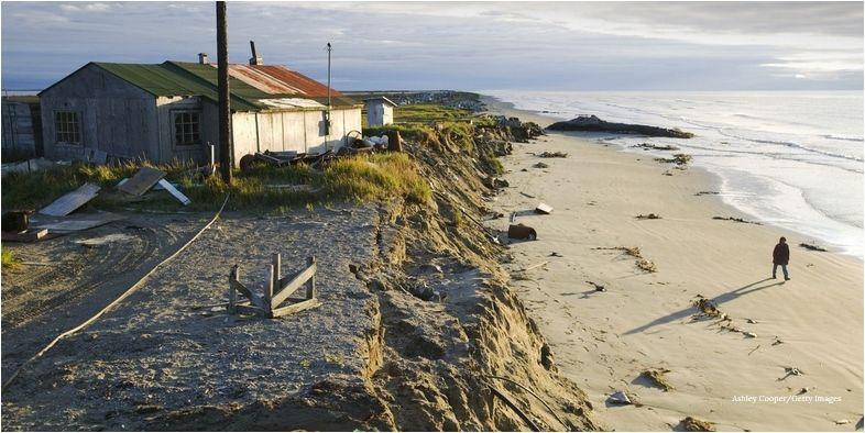 Un Pueblo De Alaska Se Traslada Debido Al Cambio Climático