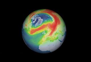 Un raro agujero de ozono se abre en el Ártico
